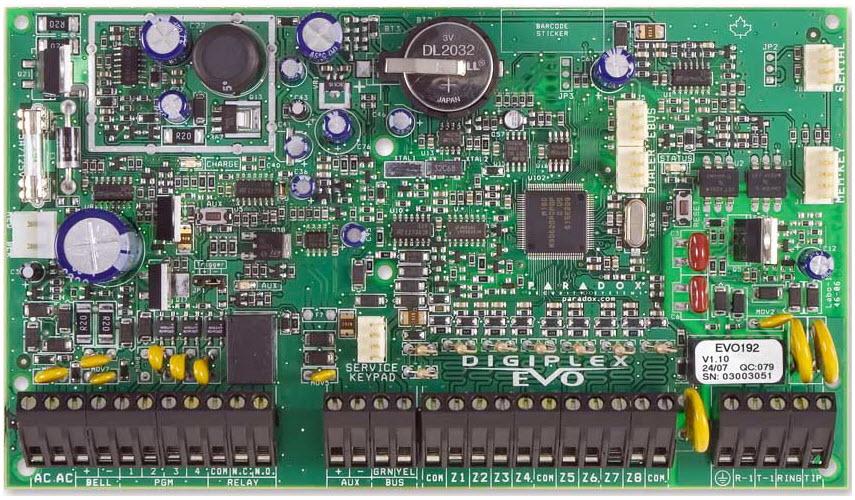 Alarmna centrala EVO192/PCB