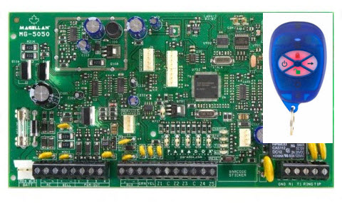 Bežična alarmna centrala MG-5050R1/PCB