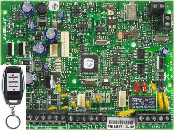 Bežična alarmna centrala MG-5000R15/PCB