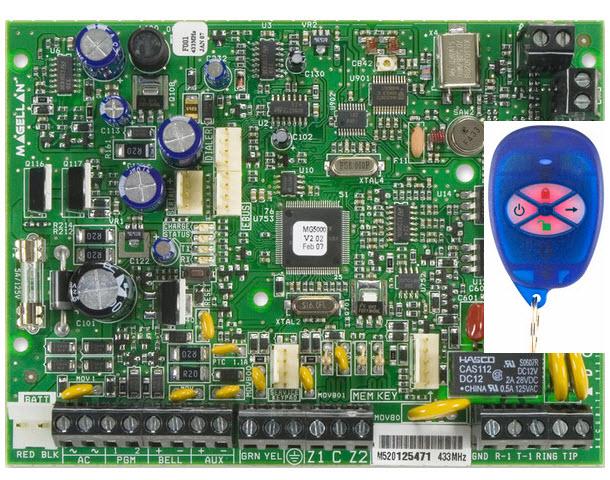 Bežična alarmna centrala MG-5000R1/PCB
