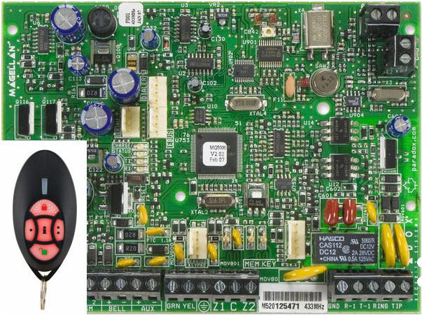 Bežična alarmna centrala MG-5000R2/PCB