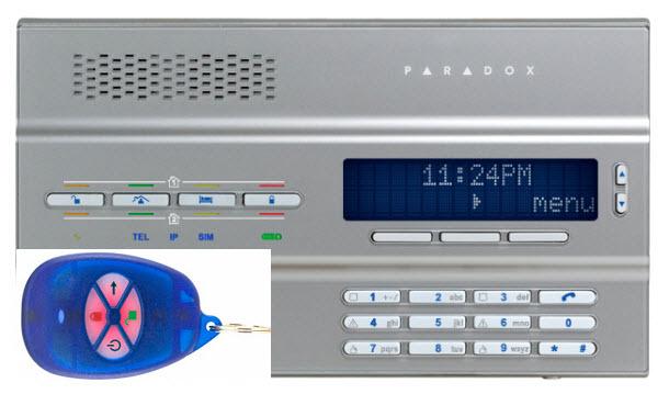 Bežična alarmna centrala MG6250R1