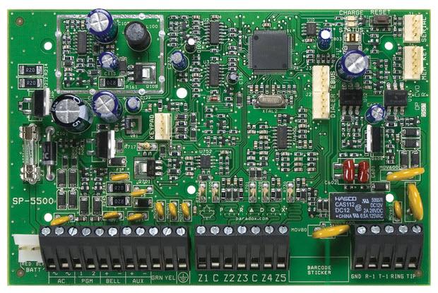 Alarmna centrala SP5500/PCB