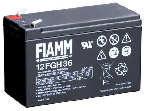 FIAMM Aku baterija 12V / 9 Ah