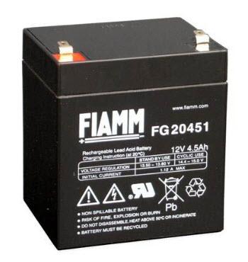 FIAMM Aku baterija 12V / 4.5 Ah