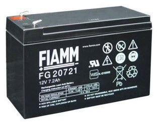 FIAMM Aku baterija 12V / 7.2 Ah