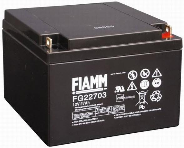 FIAMM Aku baterija 12V / 27Ah