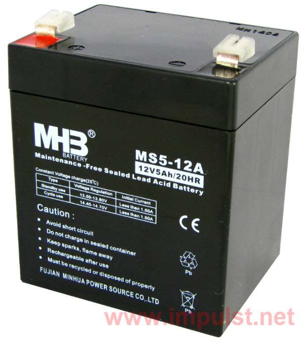 MHB Aku baterija MS 5-12