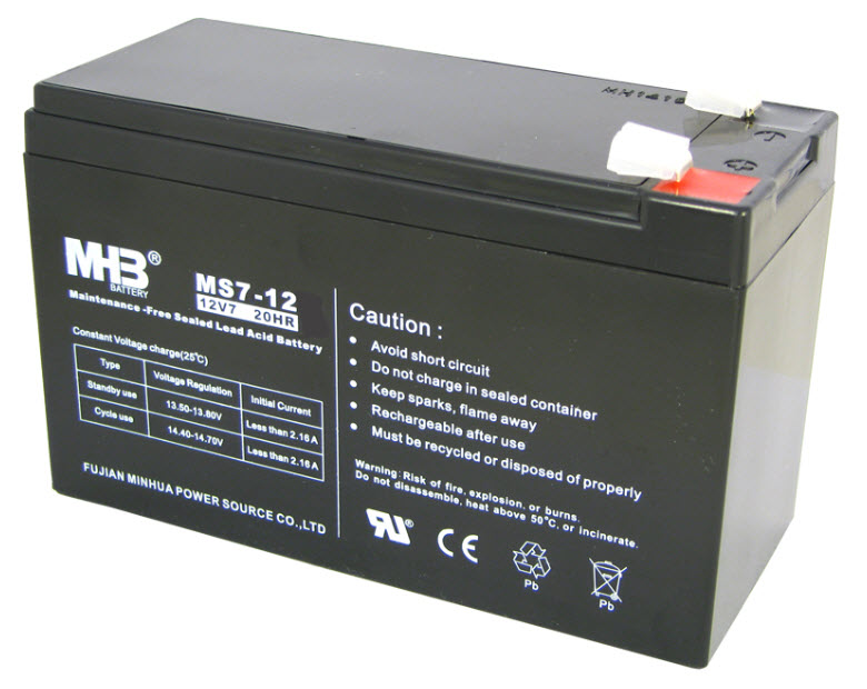 MHB Aku baterija MS 7-12