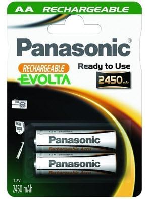 Baterija Panasonic HHR-3XXE/2BC 2450mA Ni-Mh