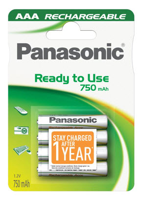 Baterija Panasonic HHR-4MVE/4BC 750mA Ni-Mh