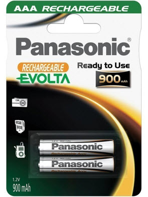 Baterija Panasonic HHR-4XXE/2BC 900mA Ni-Mh
