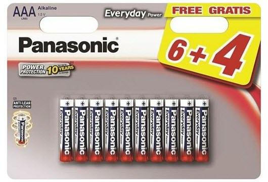 Baterija Panasonic LR03EPS/10BW 1,5V Alkalna