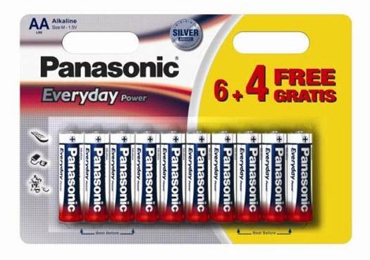 Baterija Panasonic LR6EPS/10BW 1,5V Alkalna
