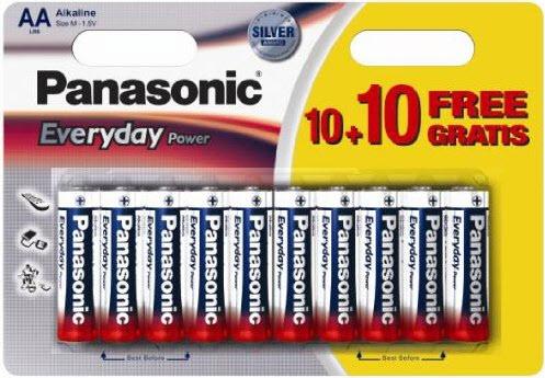 Baterija Panasonic LR6EPS/20BW 1,5V Alkalna