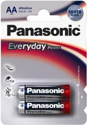 Baterija Panasonic LR6EPS/2BW 1,5V Alkalna