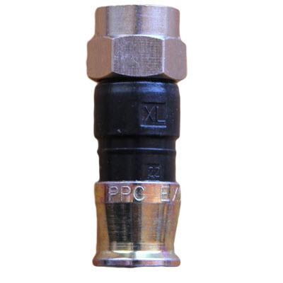 F konektor EX59XL PPC RG59 kompresioni