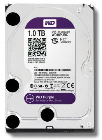 HDD WD SATA 1TB Purple