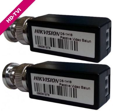 Video Balun Hikvision DS-1H18 HD-TVI (PAR)