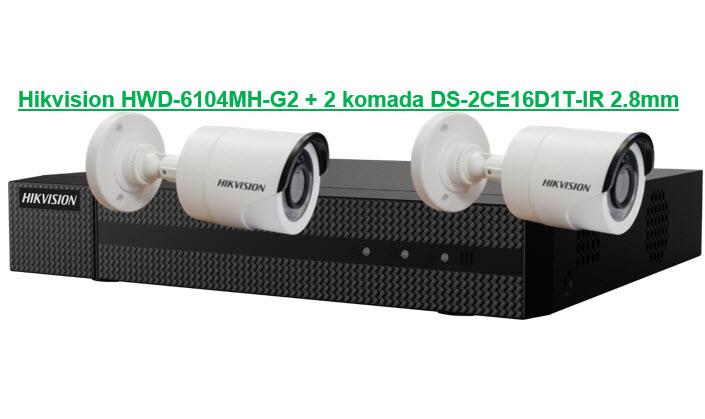 HD-TVI KIT 6104-16D2
