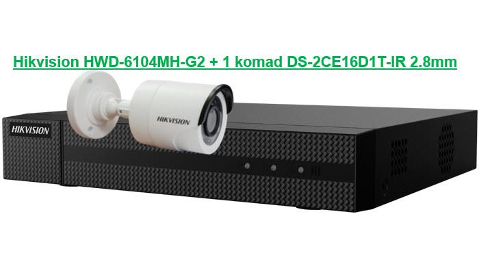 Hikvision HD KIT 6104-16D1