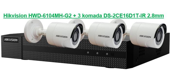 HD-TVI KIT 6104-16D3