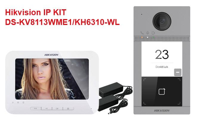 Hikvision interfonski KIT DS-KV8113WME/KH6310