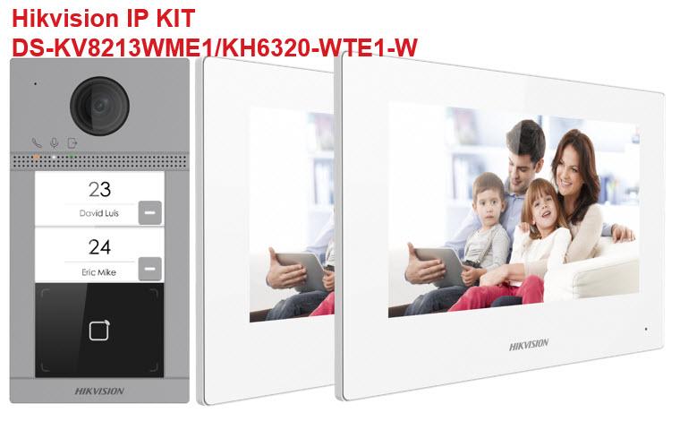 Hikvision interfonski KIT DS-KV8213WME/KH6320WTE
