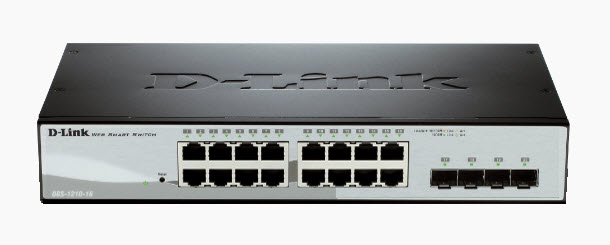 D-Link DGS-1210-16 Gigabit Smart Managed Switch