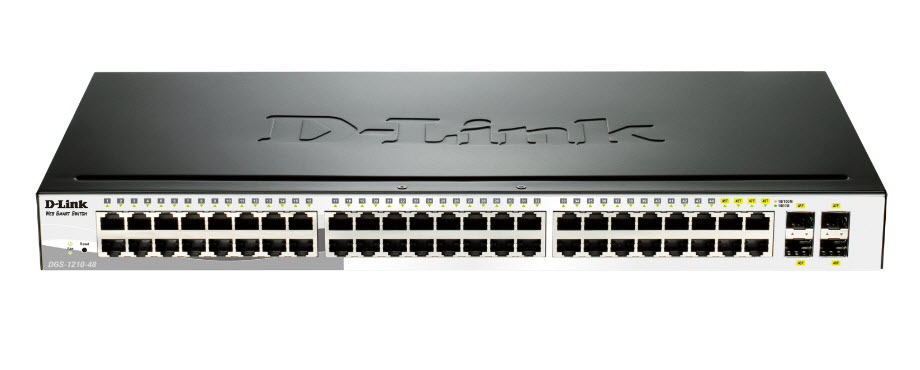 D-Link DGS-1210-48 Gigabit Smart Managed Switch