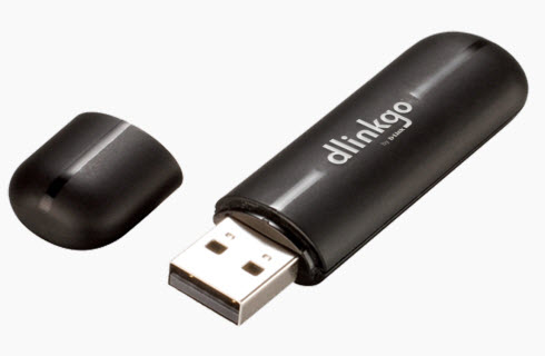 D-Link GO-USB-N150 Wireless Adapter