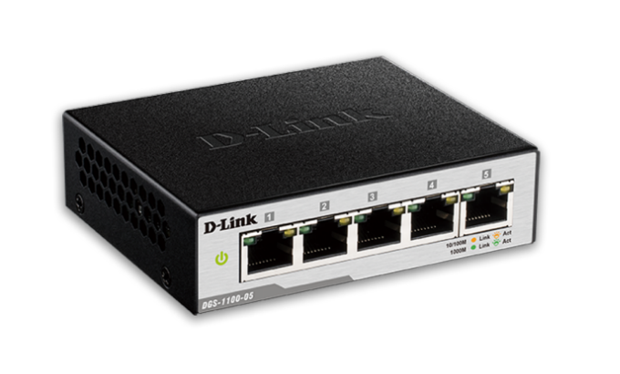 D-Link DGS-1100-05 Gigabitni Smart Switch