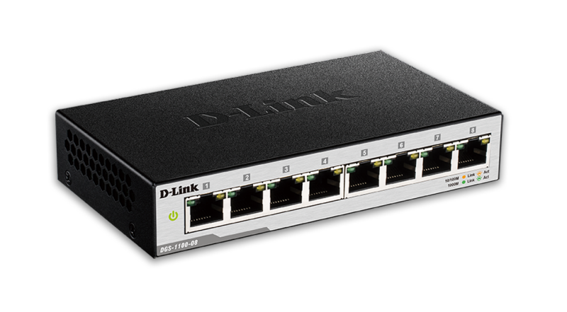 D-Link DGS-1100-08 Gigabitni Smart Switch