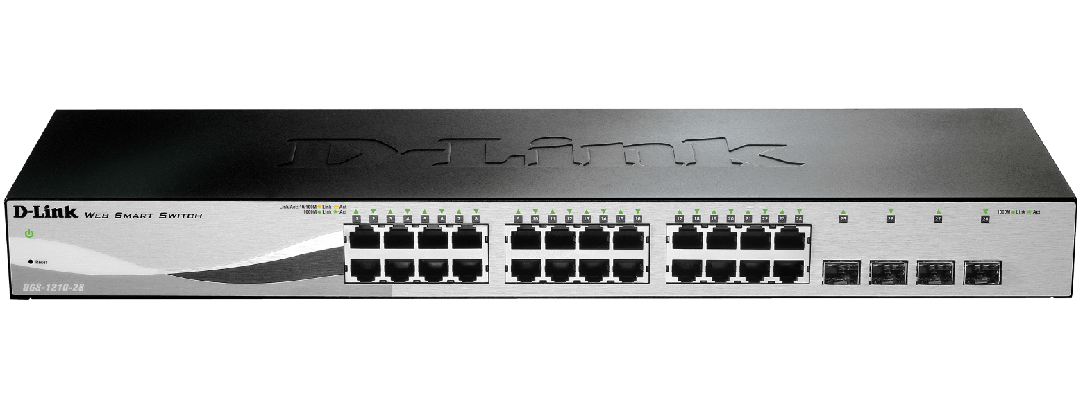 D-Link DGS-1210-28 Gigabit Smart+ Switch