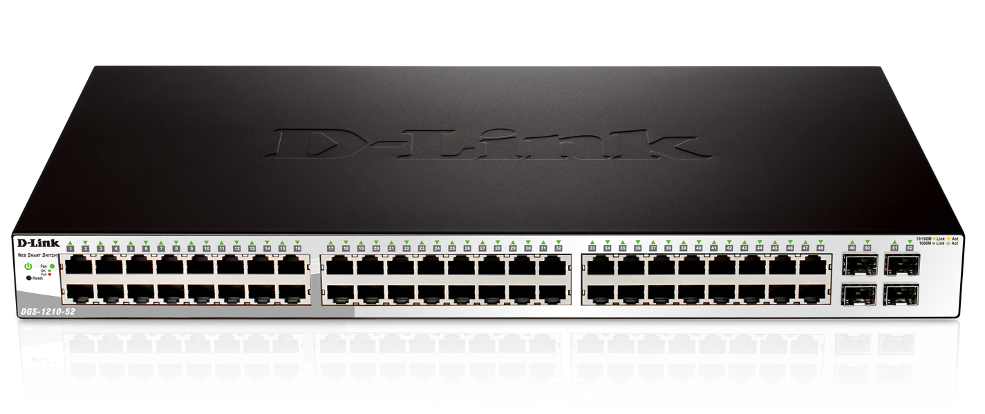 D-Link DGS-1210-52 Gigabit Smart+ Switch