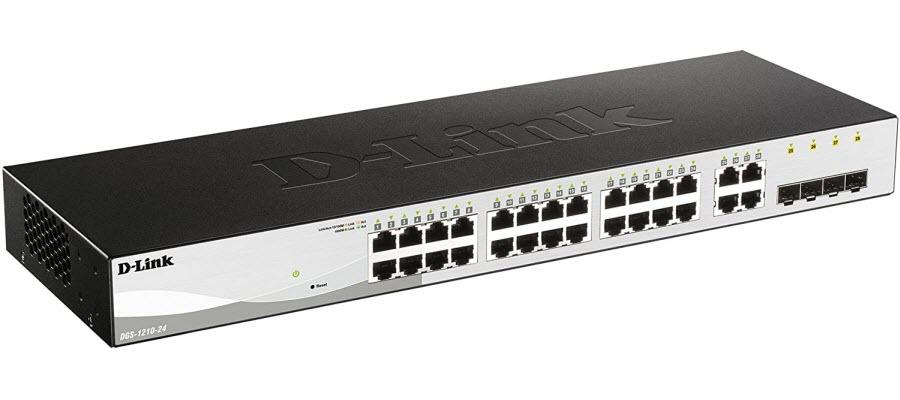 D-Link DGS-1210-24 Gigabit Smart Managed Switch
