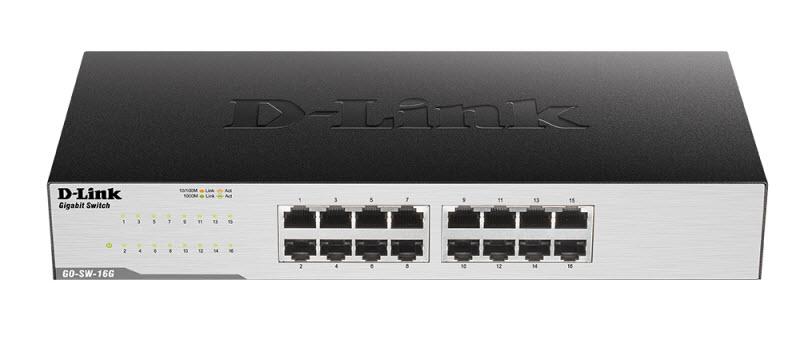 D-Link GO-SW-16G/E Gigabit Switch