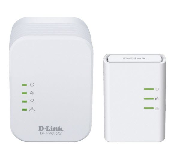 D-Link DHP-W311AV WiFi Powerline KIT