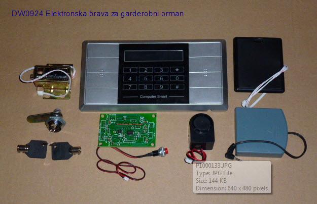 Elektronska brava DW0924