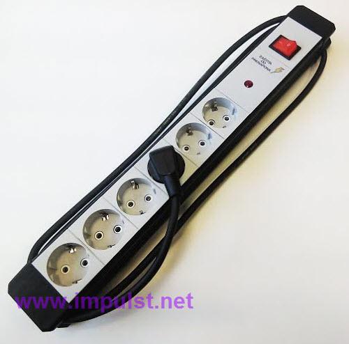 Produžni kabl MPP6/2m sa PNZ i PREK.