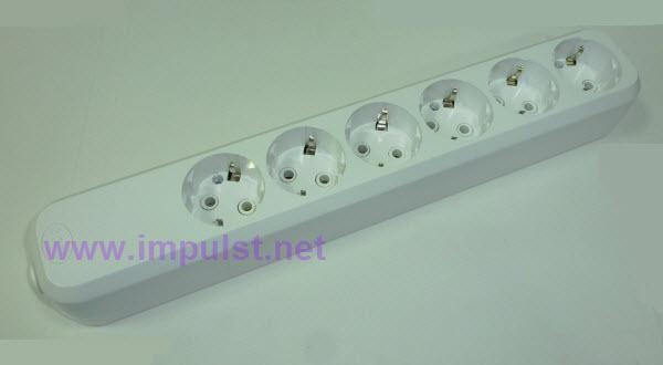 Priključnica strujna PP6 bez kabla