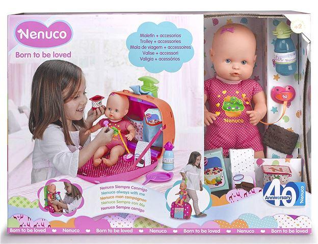 EOL Igračka Nenuco beba s koferom