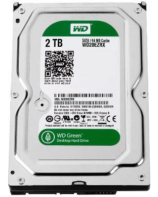 HDD WD SATA 2TB Green