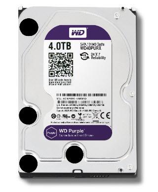 HDD WD SATA 4TB Purple