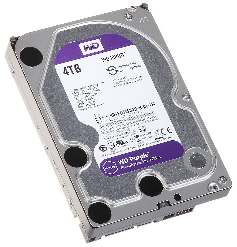 HDD WD SATA 4TB Purple - PURZ