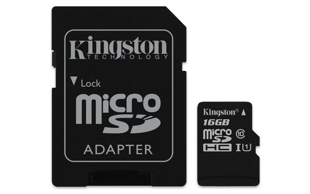 Micro SDHC kartica 16GB klasa 10 + SD adapter
