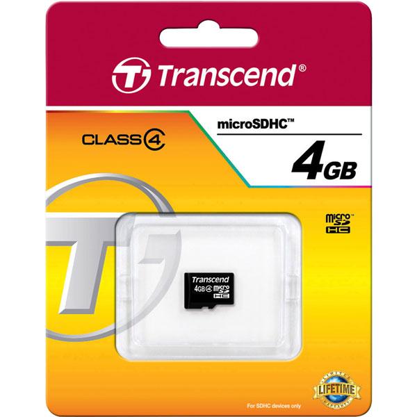 Micro SDHC kartica 4GB klasa 4
