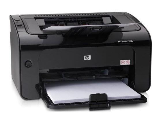 Laserski A4 štampač HP P1102w