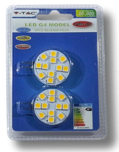 LED Sijalica G4-2,5-WW 2 PAK