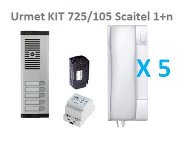 Urmet KIT 725/105 Scaitel 1+n